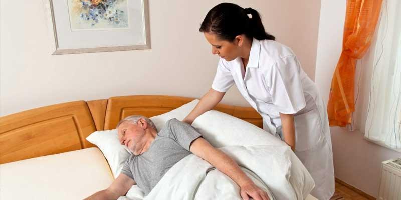 массаж для лежачего пациента