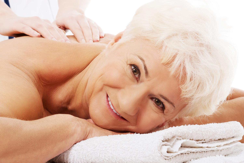 массаж пожилым