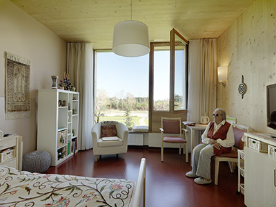 номера в доме для пожилых
