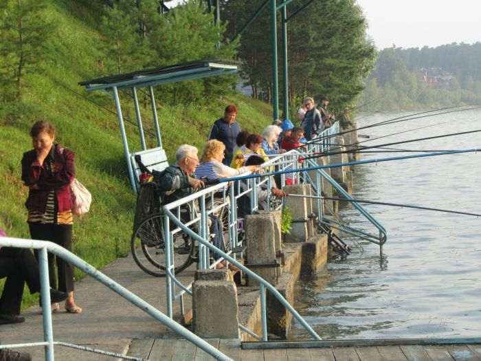 отдых инвалидов на коляске